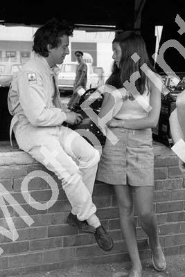 1973 SA GP Jackie Oliver and friend (permission Roger Swan) 109