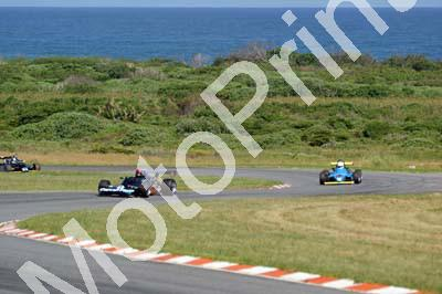 1 sea view Fred Phillips Lola T460; Roddy Mills Pilbeam MP52; Esses Peter Kernick's Maurer parked