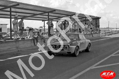 1971 SL Free State 3hr Jan Alfa GTA Eddie Keizan Meyer Botha 19th (permission Malcolm Sampson Motorsport Photography)