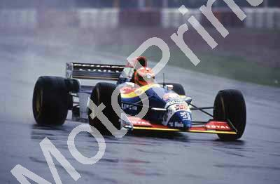 1995 Arg GP Irvine Jordan Peugeot 011 - Click Image to Close