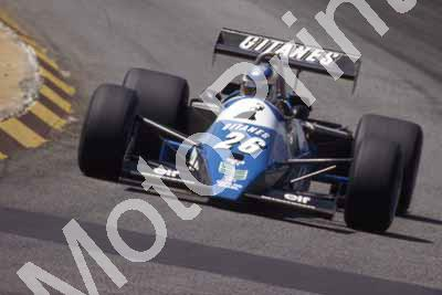 1983 SS SA GP 26 Raul Boesel Ligier Cosworth JS21 (Courtesy Roger Swan) (1)