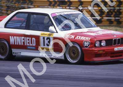 1990 Kya DTM 13 Deon Joubert BMW Winfield SCANNED A4 20X30 CM (Courtesy Roger Swan) (3)