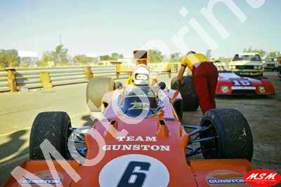 1974 Kya SS 6 Ian Scheckter Lotus 72 220 (permission Malcolm Sampson Motorsport Photography)
