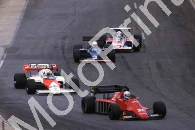 0 group Baldi, Prost, Brundle, Cecotto (courtesy Roger Swan) 509