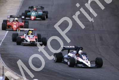 0 group De Cesaris, Senna, Arnoux, Cheever (courtesy Roger Swan) 456