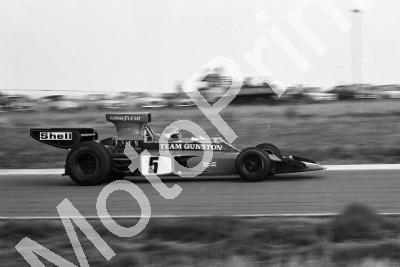 1974 Welkom SS 5 P Driver Lotus 72 (permission Malcolm Sampson Motorsport Photography) 1974 Welkom