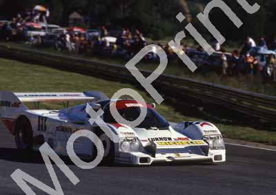 1986 Sun 500 18 Walter Brun, Massimo Sigala Porsche 962C NOTE FRONT WING (courtesy Roger Swan) (1) - Click Image to Close
