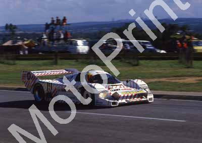 1986 Sun 500 19 Jochen Mass, Thierry Boutsen Porsche 962C NOTE FRONT WING (Roger Swan) (6) - Click Image to Close