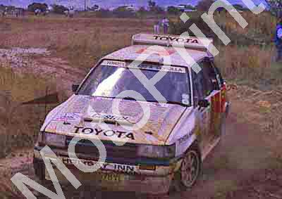 1988 Nissan 400 1 Serge Damseaux, Vito Bonafede Toyota Conquest(courtesy Roger Swan) (19)