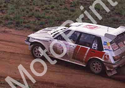 1988 Nissan 400 1 Serge Damseaux, Vito Bonafede Toyota Conquest(courtesy Roger Swan) (25)
