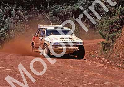 1988 Nissan 400 1 Serge Damseaux, Vito Bonafede Toyota Conquest(courtesy Roger Swan) (28)