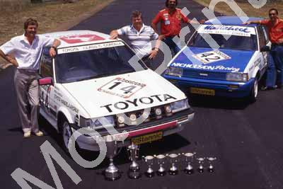 1986 Castrol 6 hr 14 Mike White Serge Damseaux 42 ....(courtesy Roger Swan) 573 (1)