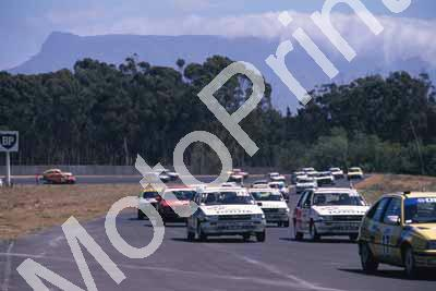 1988 6 hr 1 start 17 Turner, Venter Opel, 23 Wyndham Mare, 22 White brothers RSi Conquests (courtesy Roger Swan) (152)