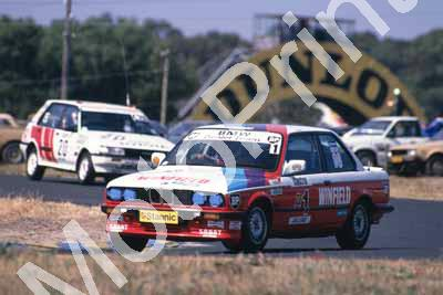 1988 6 hr 1 Tony Viana, Geoff Goddard BMW 325i (Roger Swan) (2) - Click Image to Close