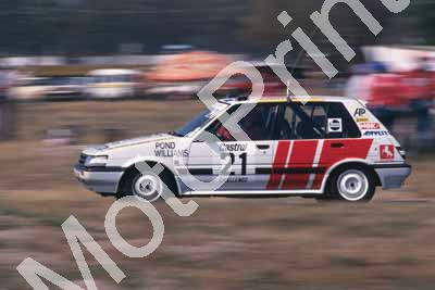 1988 6 hr 21 Tony Pond, Barry Williams Toyota Conquest RSi (Roger Swan) (2)