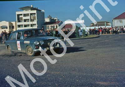 1965 Mobil Moonlight rally Morris 1000 CB1740 Ronnie Kruger check Malcomess