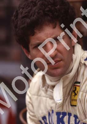 1980 SA GP 1 Jody Scheckter Ferrari 312T5 scanned A4 (courtesy Roger Swan) (1) - Click Image to Close
