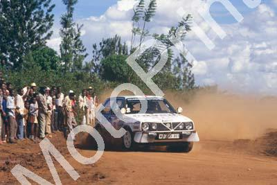 1987 Safari 8 Kenneth Eriksson, Peter Diekmann Golf GTi (courtesy Roger Swan) (221)