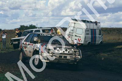 1987 Safari 16 Vic Preston, John Lyall Lancia Delta HF (courtesy Roger Swan) (72)