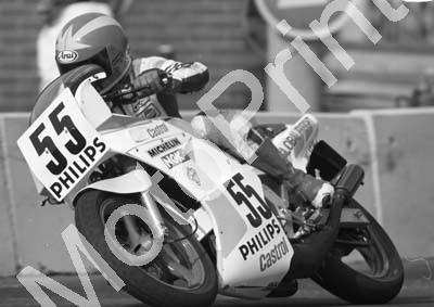 1988 Dbn MC 55 Vaughan Kyle Yamaha TZR250 (Colin Watling Photographic) (1)