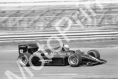 1985 Brands European GP 12 Ayrton Senna Lotus Renault 97T (Colin Watling Photographic) (164)