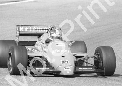 1985 Brands European GP 24 Huub Rothengatter Osella FA1G (Colin Watling Photographic) (29)