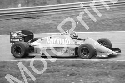 1985 Brands European GP 24 Huub Rothengatter Osella FA1G (Colin Watling Photographic) (31)