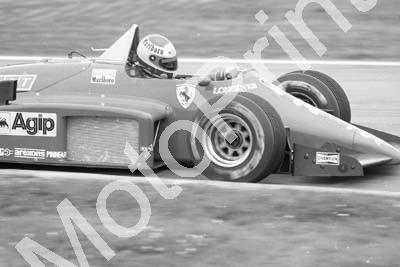 1985 Brands European GP 27 Michele Alboreto Ferrari 156-85 (Colin Watling Photographic) (225)
