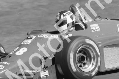 1985 Brands European GP 28 Stefan Johannson Ferrari 156-85 (Colin Watling Photographic) (108)