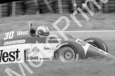 1985 Brands European GP 30 Jonathan Palmer Zakspeed 841-4 (Colin Watling Photographic) (44)