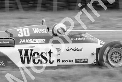 1985 Brands European GP 30 Jonathan Palmer Zakspeed 841-4 (Colin Watling Photographic) (45)