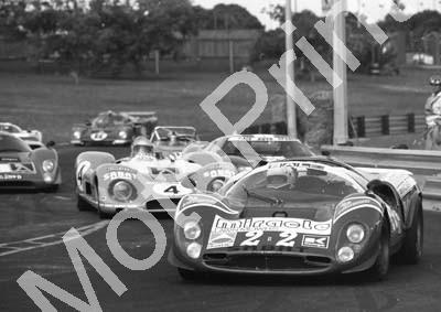 1988 Dbn ISP 22 Mario Casoni Ferrari P2 4 Mike Knight Matra-Ford MS650 (Colin Watling Photographic) (10)