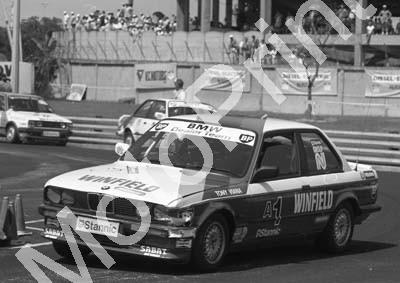 1988 Dbn Stannic 1 Tony Viana BMW325iS NOTE LH FRONT DING (Colin Watling Photographic) (2)