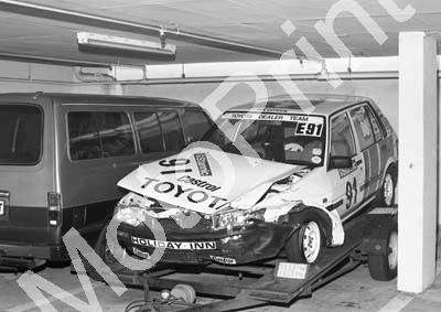 1988 Dbn Stannic 91 Leon Mare Toyota Conquest NOTE FRONTAL DAMAGE (Colin Watling Photographic) (24)