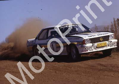1983 Castrol Intnl 1 Jimmy McRae, Ian Grindrod Opel Ascona 4thl (Courtesy Roger Swan)(5)