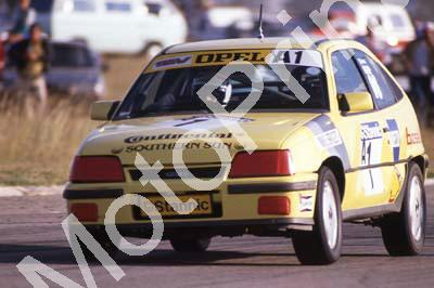 1990 Goldfields April Stannic A1 Michael Briggs Opel 16V NOTE DAMAGE (courtesy Roger Swan) (66)