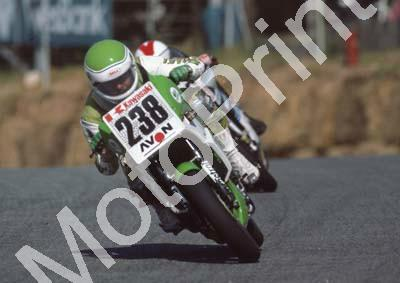 1985 Kya MC 238 Jamie Thomas Kawasaki KR250R (Colin Watling Photographic) 322 (90) - Copy
