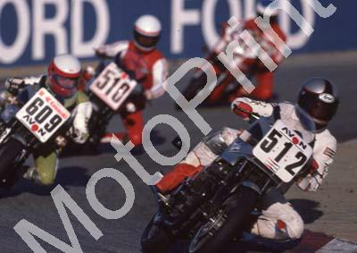 1985 Kya MC 512 Sean Brummer Kawasaki 609 Jamie Thomas Kawasaki (Colin Watling Photographic) 322 (107)