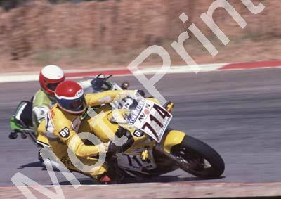 1985 Kya MC 714 Glenn Williams Yamaha RZ500 (Colin Watling Photographic) 322 (109)