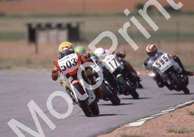 1985 Welkom MC 503 Russell Wood Yamaha 350LC (Colin Watling Photographic) 322 (53)