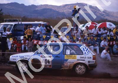1990 Castrol Intnl 14 Paolo Piazza-Musso, Gill Tarlton VW Golf (R Swan) (6)