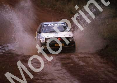 1990 Castrol Intnl 14 Paolo Piazza-Musso, Gill Tarlton VW Golf (R Swan) (10)