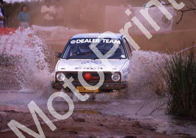 1990 Castrol Intnl 14 Paolo Piazza-Musso, Gill Tarlton VW Golf (R Swan) (12)