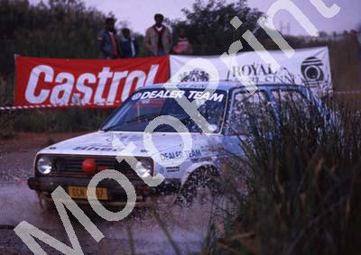 1990 Castrol Intnl 14 Paolo Piazza-Musso, Gill Tarlton VW Golf (R Swan) (13)