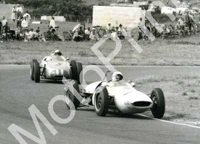 1961 SA GP EL Stirling Moss Lotus 18-21, Jo Bonnier Porsche