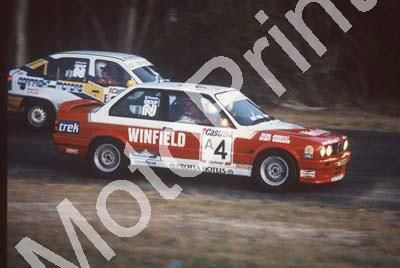 1992 Killarney 9 hr A4 Deon Joubert Geoff Goddard BMW 325iS evening(courtesy Roger Swan) 2826 (10)