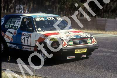 1992 Killarney 9 hr B17 Nico van Rensburg, Peter and Gretha de Weerdt Golf GTi(courtesy Roger Swan) (2)