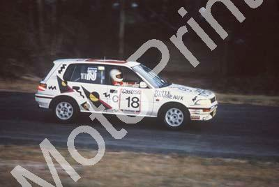 1992 Killarney 9 hr C18 Mike White Serge Damseaux Toyota Conquest RSi evening (courtesy Roger Swan) (7)