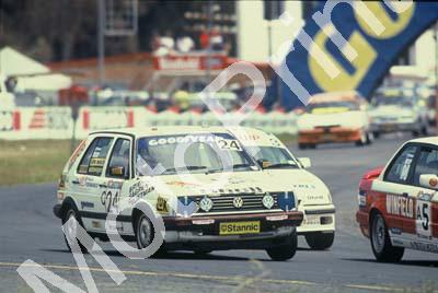 1992 Killarney 9 hr C24 Marthinus Briers Sagren Nair Richard Vlietman Golf GTI (courtesy Roger Swan)2833 (16)