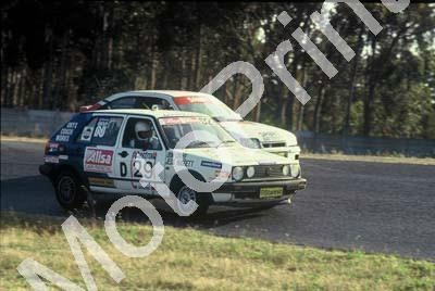 1992 Killarney 9 hr D29 Don Craye Jess Huggett Golf GTi evening(courtesy Roger Swan) (2)